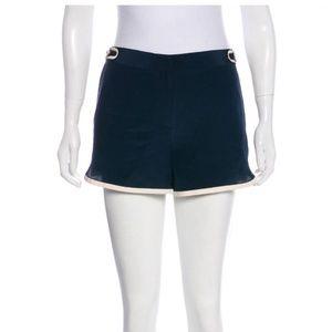 Diane Von Furstenberg Tiffany Navy Shorts